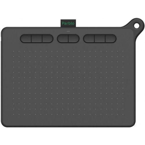 Графический планшет Parblo Ninos M black черного цвета