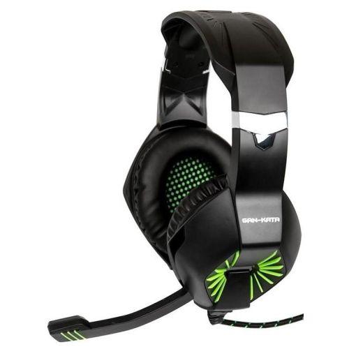 Компьютерная гарнитура Dialog HGK-28L черно-зеленый черно-зеленого цвета