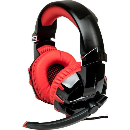 Компьютерная гарнитура Dialog HGK-34L7.1 черно-красный черно-красного цвета