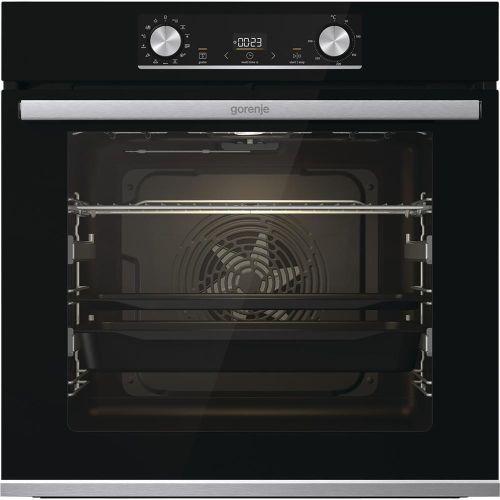 Электрический духовой шкаф Gorenje BOSX6737E09BG чёрный черного цвета