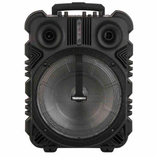 Музыкальный центр Telefunken TF-PS2306 чёрный черного цвета