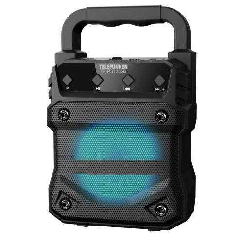 Портативная колонка Telefunken TF-PS1235B чёрный черного цвета