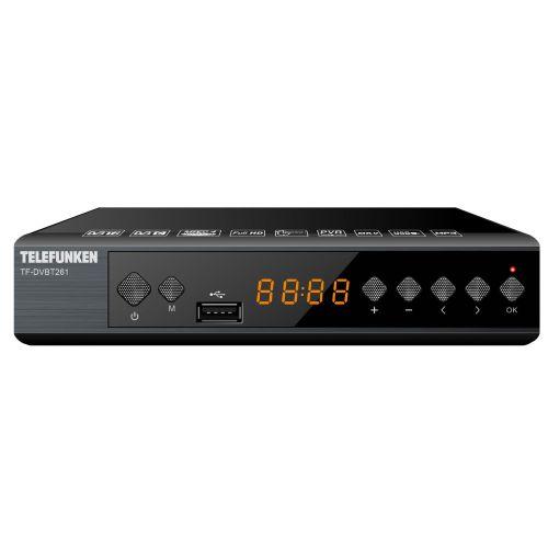 Ресивер DVB-T2 Telefunken TF-DVBT261
