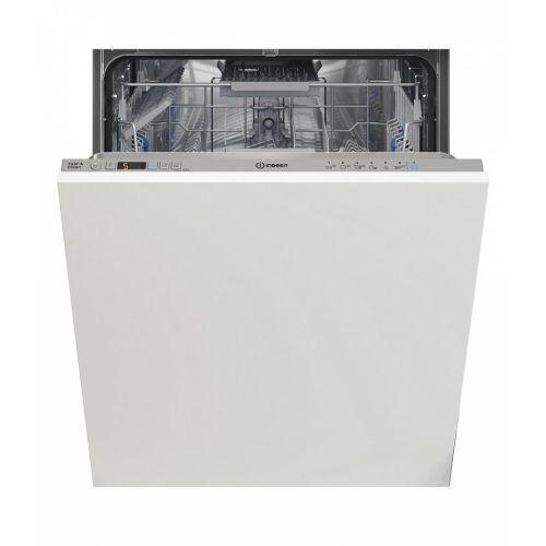 Встраиваемая посудомоечная машина Indesit DIC 3B+16 AC S белый белого цвета