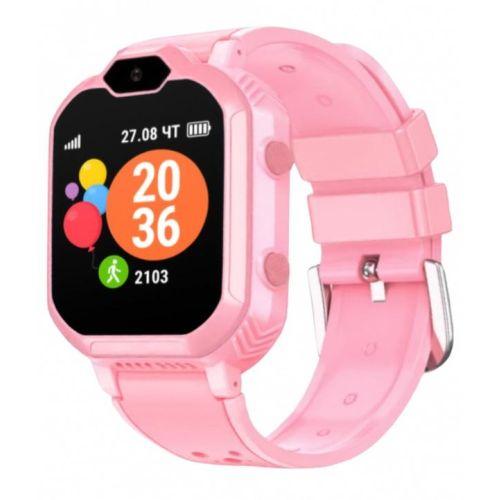 Смарт-часы Geozon G-kids [G-W13PNK] pink розового цвета