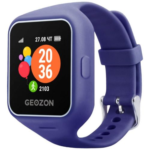 Смарт-часы Geozon Life Blue [G-W12DBLU] blue синего цвета