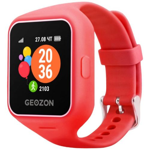 Смарт-часы Geozon Life Red [G-W12RED] red красного цвета