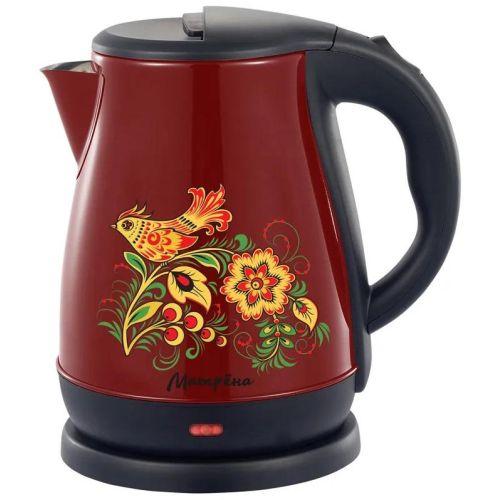 Электрический чайник МАТРЁНА MA-003 бордовый