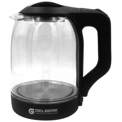 Электрический чайник Gelberk GL-403 чёрный