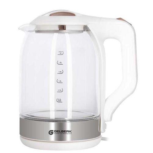 Электрический чайник Gelberk GL-404 белый