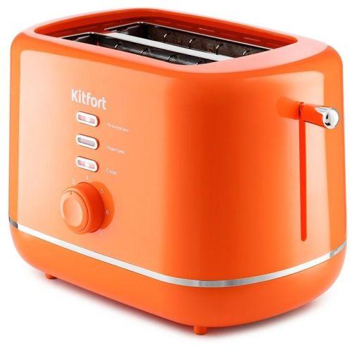 Тостер Kitfort КТ-2050-4 оранжевый