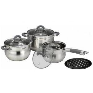 Набор посуды Vitesse VS-2039 7 предметов набор посуды эмаль элеонора 7 предметов