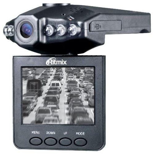 Купить со скидкой Автомобильный видеорегистратор Ritmix