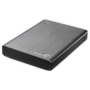 где купить Внешний жёсткий диск Seagate Wireless Plus 1Tb USB 3.0 STCK1000200 grey дешево