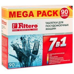Средство для посудомоечных машин Filtero 703 таблетки 7 в 1 90 шт кеторол 10мг 20 таблетки