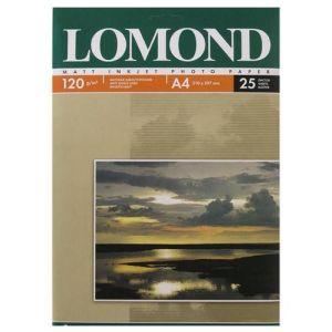 Фотобумага Lomond A4 120 г/м2 матовая фотобумага a4 lomond 1103301 260 г м2