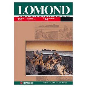 Фотобумага Lomond A4 230г/м2 матовая фотобумага lomond а4 140г м2 глянцевая 25 листов 0102076