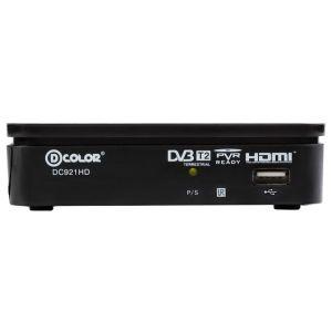 Ресивер DVB-T2 D-COLOR DC921HD тюнер dvb t2 d color dc700hd