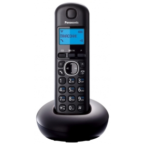 Телефон беспроводной DECT Panasonic KX-TGB210RUB телефон беспроводной dect alcatel origin