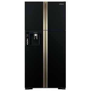 Холодильник Side-by-Side Hitachi R-W662PU3GBK холодильник hitachi r s700puc2gs