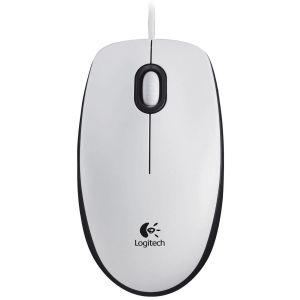 все цены на Мышь проводная Logitech Mouse M100 White USB