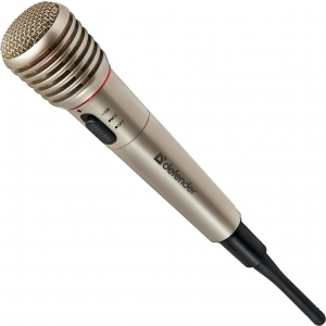Микрофон Defender MIC-140 микрофон defender mic 115 1 7m black 64115