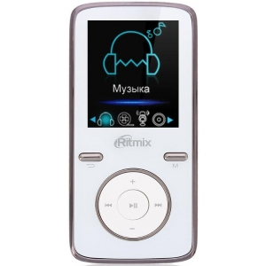 MP3 плеер Ritmix RF-4950 4Gb white mp3 плеер ritmix rf 3450 4gb white