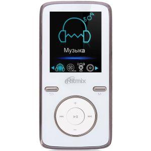 MP3 плеер Ritmix RF-4950 4Gb white mp3 плеер ritmix rf 7650m blue 4gb