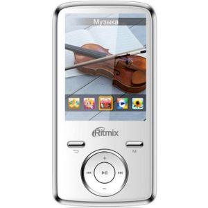 цена MP3 плеер Ritmix RF-7650 4Gb white