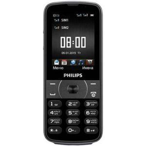 Мобильный телефон Philips E560 black philips e560