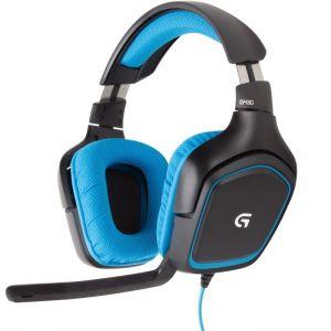 Компьютерная гарнитура Logitech G430 Surround Sound Gaming Headset ultra loud bicycle air horn truck siren sound 120db
