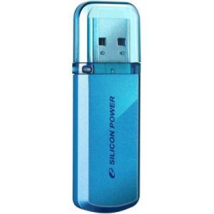 Флешка Silicon power Helios 101 16Gb blue (SP016GBUF2101V1B) usb flash drive 16gb silicon power helios 101 blue sp016gbuf2101v1b
