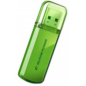 Флешка Silicon power Helios 101 16Gb green (SP016GBUF2101V1N) usb flash drive 16gb silicon power helios 101 blue sp016gbuf2101v1b