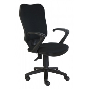 Кресло компьютерное Бюрократ CH-540AXSN черный бюрократ офисное ch 540axsn tw 11 черное