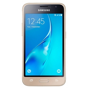 Смартфон Samsung Galaxy J1 (2016) SM-J120F/DS золото сотовый телефон samsung sm j120f ds galaxy j1 2016 gold