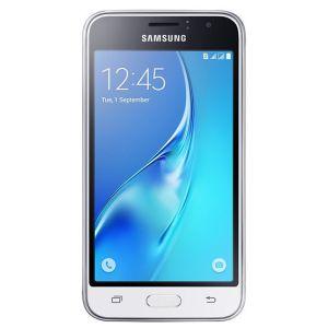 Смартфон Samsung Galaxy J1 (2016) SM-J120F/DS белый сотовый телефон samsung sm j120f ds galaxy j1 2016 gold