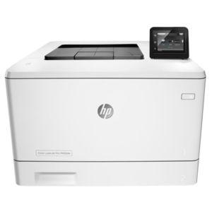 Лазерный принтер HP Color LaserJet Pro M452nw принтер hp color laserjet pro m452dn лазерный цвет белый [cf389a]