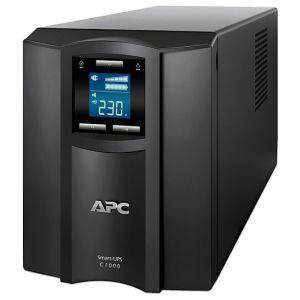 ИБП APC Smart-UPS C SMC1000I чёрный источник бесперебойного питания apc smart ups c 1000va 2u rack mountable lcd 230v smc1000i 2u