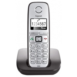 Телефон беспроводной DECT Gigaset E310 серебристый new original teco inverter e310 series e310 201 h 1hp 750w 1 3 phase 200 240v 50 60 hz 1y warranty