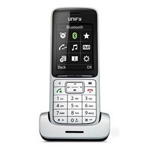 Телефон беспроводной DECT Unify OpenScape SL5 серебристый ключ активации для кордлес unify l30251 u600 a395