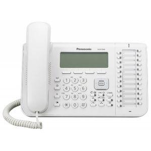 цена на Телефон проводной Panasonic KX-DT546RU белый