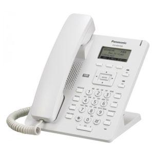 Телефон проводной Panasonic KX-HDV100RU белый voip телефон panasonic kx tpa50 kx tpa50b09