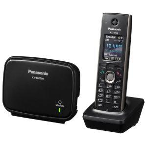 Телефон проводной Panasonic KX-TGP600RUB чёрный радиотелефон dect panasonic kx tg6811rub черный