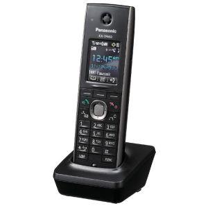 Телефон проводной Panasonic KX-TPA60RUB чёрный радиотелефон dect panasonic kx tg6811rub черный