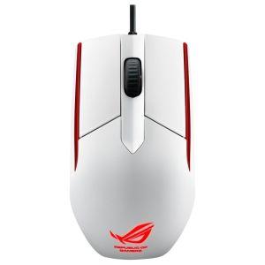 все цены на Мышь проводная Asus ROG Sica White USB белый в интернете