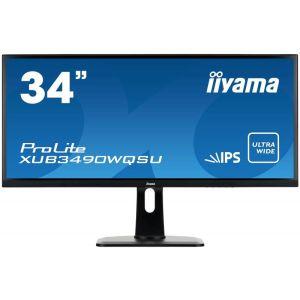 Монитор Iiyama XUB3490WQSU-B1 чёрный 6 5 lb065w01 b1 1b