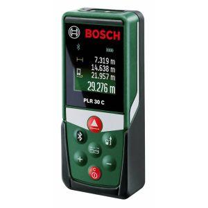 Лазерный дальномер Bosch PLR 30 C (0603672120) лазерный дальномер bosch plr 30 c