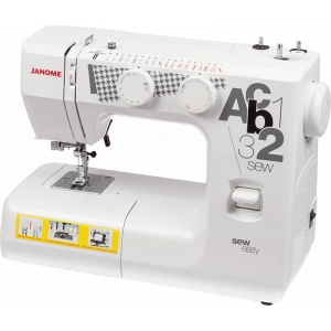 Швейная машина Janome sew easy белый measure cut sew