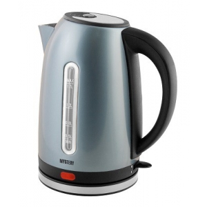 Электрический чайник Mystery MEK-1630 серебристый электрический чайник mystery mek 1638