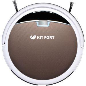 Робот-пылесос Kitfort КТ-519-4 коричневый